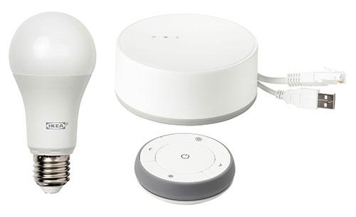 l clairage connect tr dfri d ikea est compatible homekit google home et amazon echo. Black Bedroom Furniture Sets. Home Design Ideas