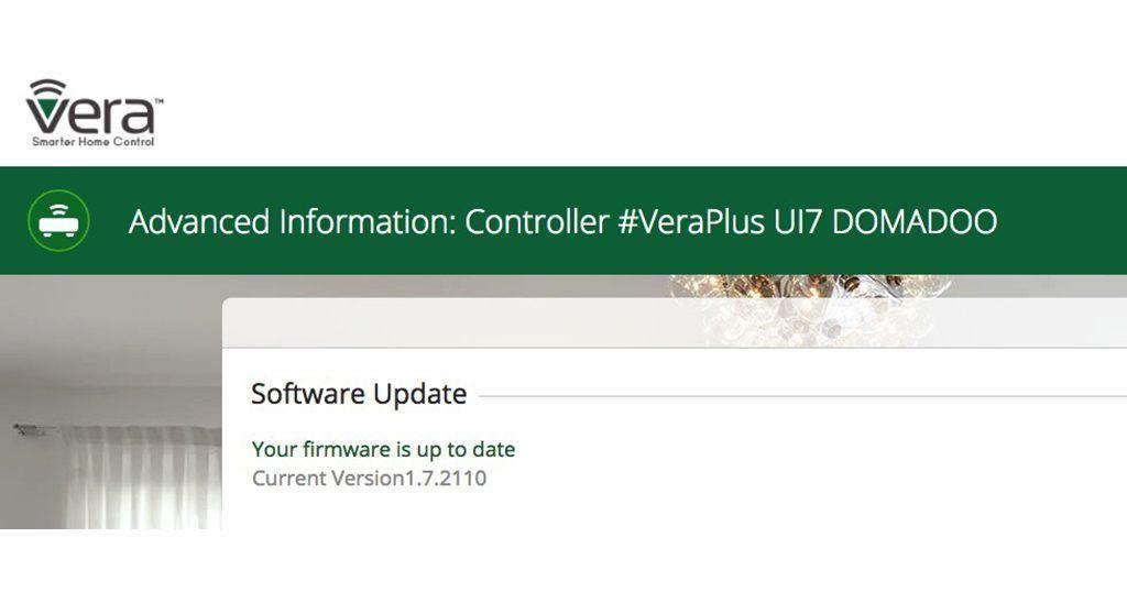 Mise à jour 7.0.21 pour les contrôleurs domotique Vera