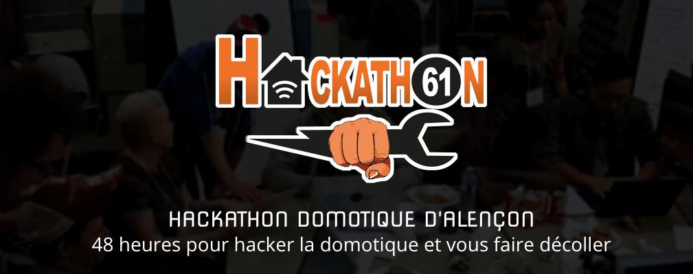 Hackathon de 48h sur la domotique à Alencon