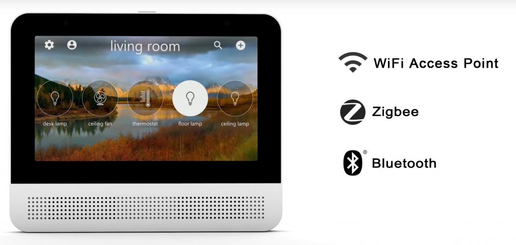 Lynky: l'écran tactile intégrant Google Assistant, coeur de la maison connectée
