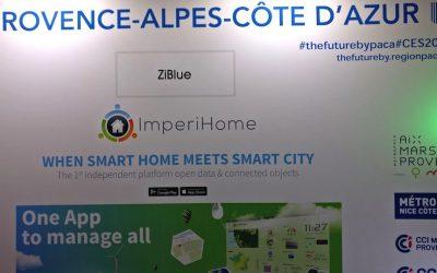 #CES2018 : Ziblue présente ImperiHome v4 et sa plateforme Smart City
