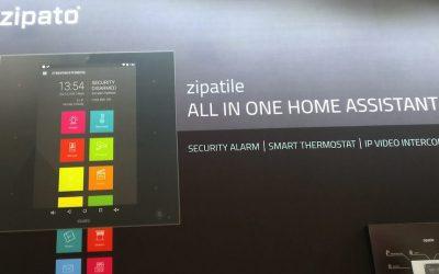Zipato présente sa nouvelle box domotique Zipamicro au #CES2018