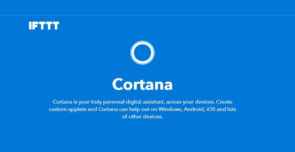 Pour percer dans la Smart Home, Microsoft Cortana se rend compatible avec IFTTT