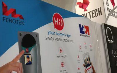 Fenotek annonce 2 partenariats pour son portier vidéo connecté