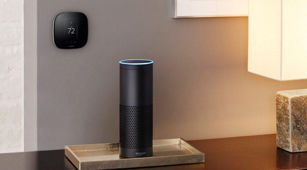 amazon investit dans le thermostat connect ecobee comparatif des solutions domotique. Black Bedroom Furniture Sets. Home Design Ideas