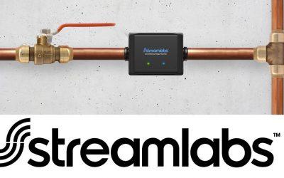 Streamlabs, toujours allumé et toujours à l'écoute des écoulements d'eau