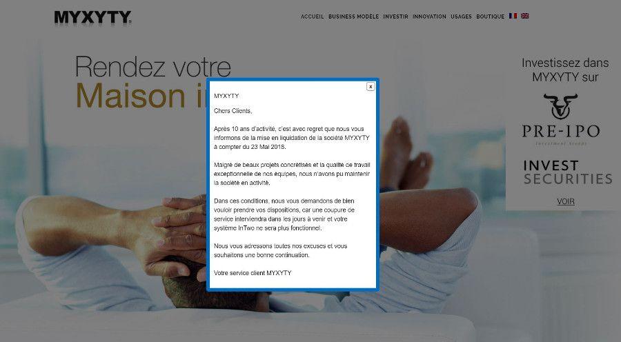 Myxyty en liquidation judiciaire, la fin du Google Home français