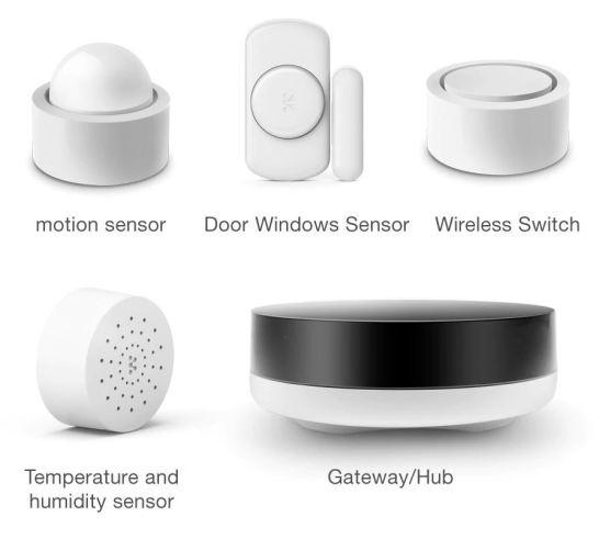 Test du kit ZigBee Konke Smart home